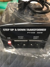 300Watts Step Up and Down Transformer for sale