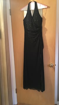 Black halter top dress Morton Grove, 60053
