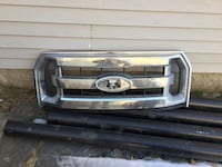 chrome Ford grille