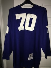 Blue and white nfl jersey Clinton, 20735