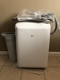 Never used.  LG portable AC New Orleans, 70127