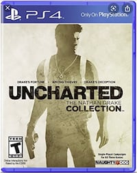 Uncharted Nathan Drake collection PS4  Brampton, L6V 1X4