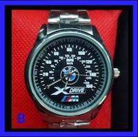 round silver-colored chronograph watch with link bracelet Torrance, 90504
