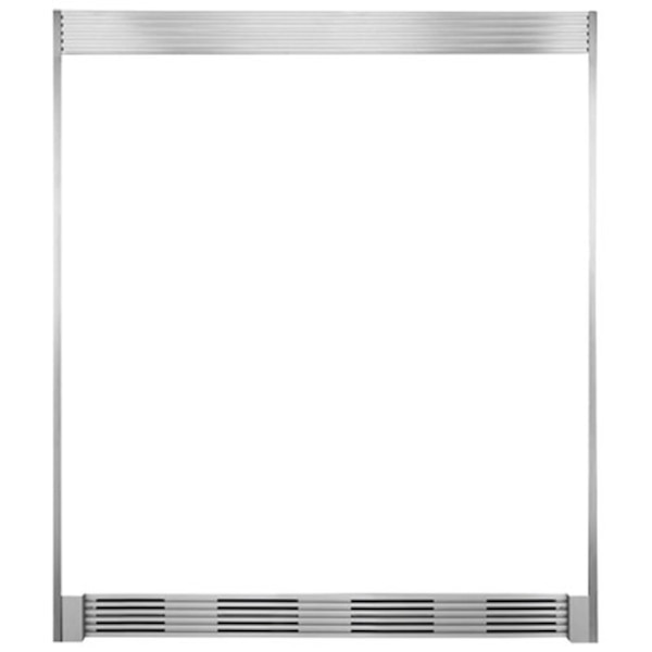NEW Frigidaire Professional Double Louvered Trim Kit (TRIMKITEZ2) - Stainless Steel