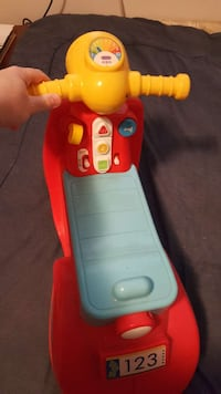 children's red, yellow, and red plastic ride-on toy Frackville, 17931