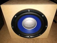 "10"" ultimate sub and Rockford amp Saint Thomas, N5P 2G5"
