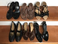Size 8.5 various brands of ladies shoes.  Tullahoma, 37388