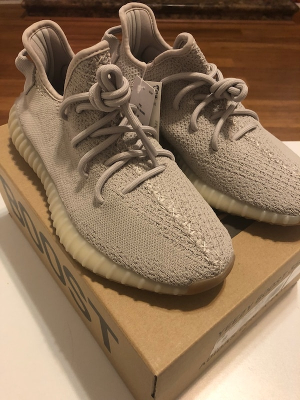 "e3216ad45ca846 Used Brand new Yeezy ""Sesame""... size 5 and 8 for sale in Riverside - letgo"