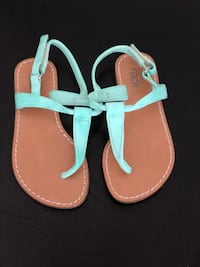 Girls Sandals - Tiffany Blue - size 8 Fairfax, 22030
