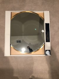 "32"" Round Mirror with beveled and gold edge. BRAND NEW Centreville, 20120"