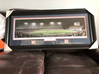 Broncos 23 yard line panoramic view