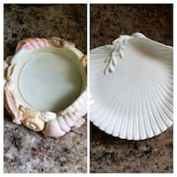 Seashell candle holder and dish West Long Branch, 07764