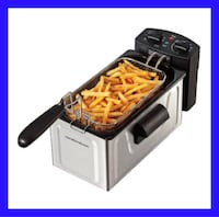 NEW Deep Fryer for French Fries, Fried Chicken and More