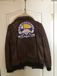 Leather Pilot Jacket Richmond, V7C 1L9