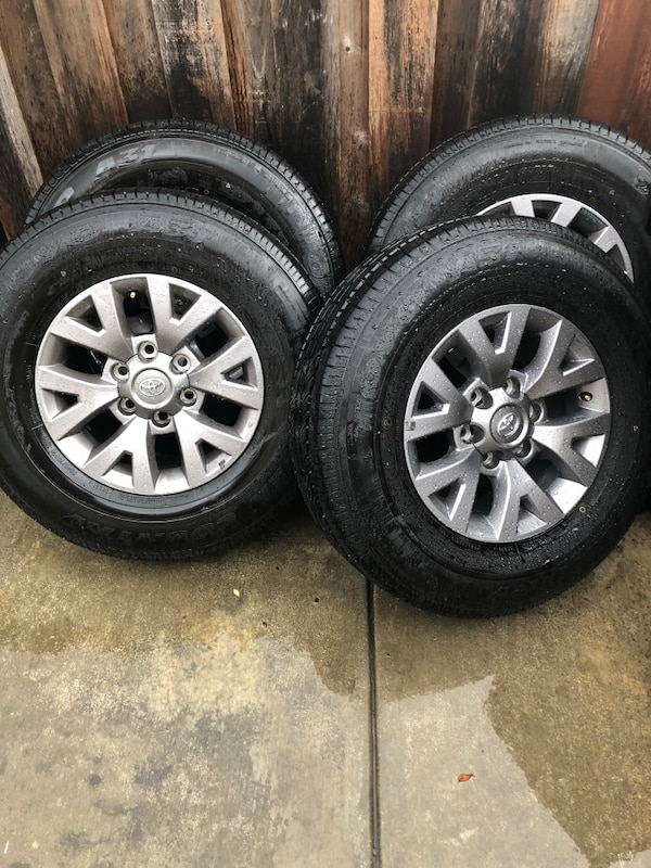 Toyota Tire Sale >> Used Toyota Tacoma Wheels And Tires New For Sale In Castro Valley