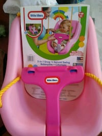 Little Tikes 2 in 1 pink Baby Swing Orlando, 32824