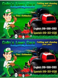 Service curt and clean yards lawn care Tulsa, 74108