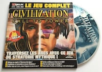 Jeu pc Civilization, call to power Arras, 62000