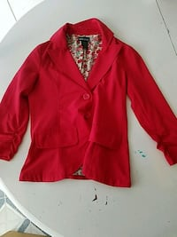 red button-up long sleeve shirt Foristell, 63348