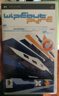 Juego PSP - Wipeout Pure 6117 km