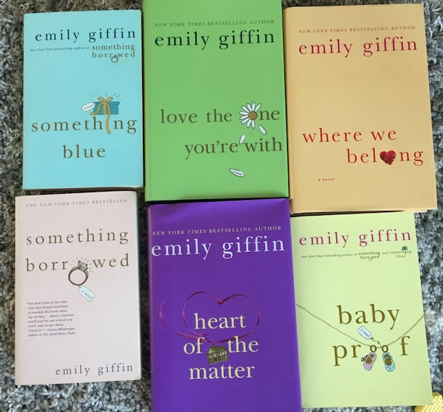 Books by Emily Giffin c6182c89-76e5-4426-83e5-b93cf3fe6e94