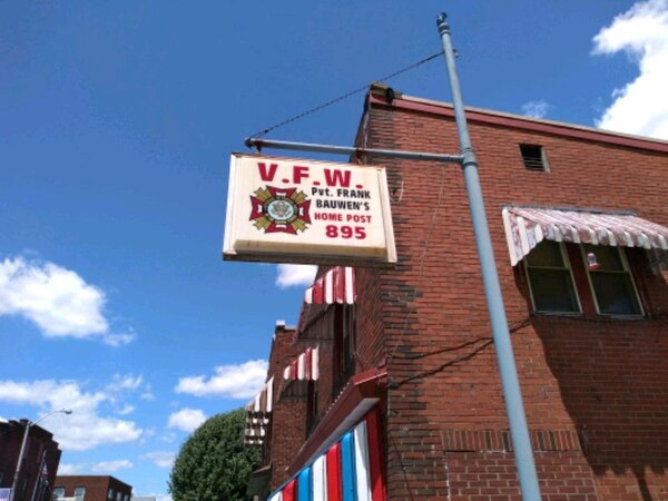 Nice VFW sign with Pole