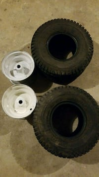 Tires and rims for mower, tractor, go cart, ect. Perryville, 21903
