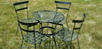 Black Iron Patio Set Swampscott, 01907