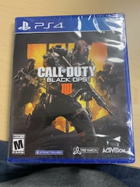 Call of Duty: Black Ops 4 (Sony PlayStation 4, 2018) Olney