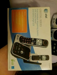 AT&T cordless telephones and answering machine
