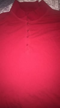 Red Collared Shirt (short sleeved) Rock Hill, 29732