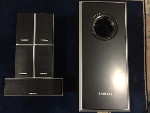 Sony/Samsung/Pioneer surround sound system (w/Blu-Ray)