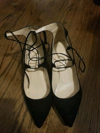 size 10 suede lace up wedges  Chicago, 60657