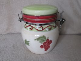 Colorful Ceramic Canister