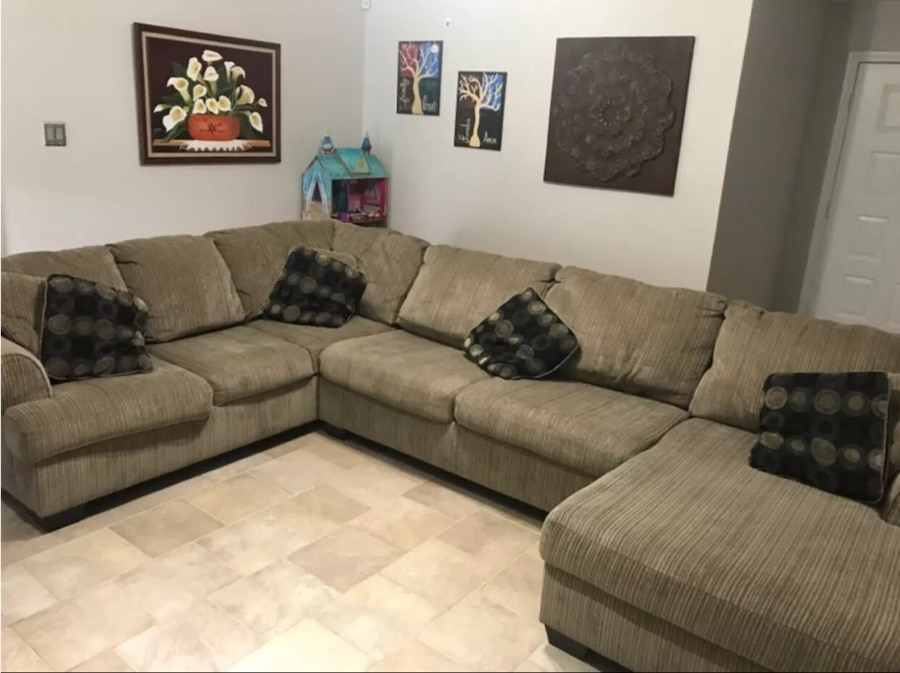 Sectional Wrap Around Sofa