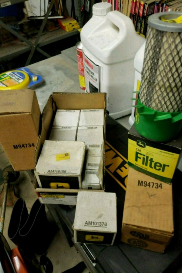John Deere misc filters- air oil and fuel