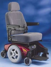 Invacare Pronto M91 Heavy Duty Electric Wheelchair (400lb) weight capa