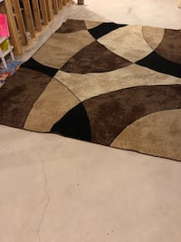Brown and black area rug London, N6B 0A5