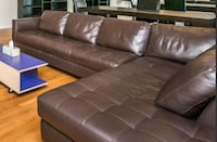 Macy all leather sofa Baltimore, 21202