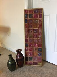 Wall hanging and vases Gainesville, 20155