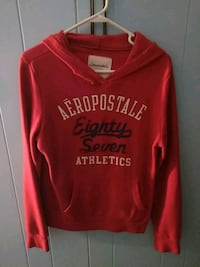red and white Aeropostale pullover hoodie Corinth, 38834