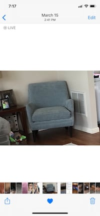 SAGE GREEN ACCENT CHAIR Bunker Hill, 25413