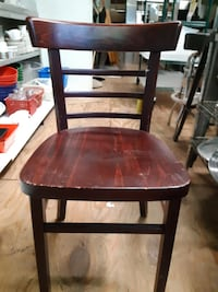 8   Mahogany chairs  CENTREVILLE