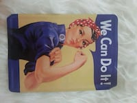"Metallene Postkarte ""We can do it!"" Konz, 54329"