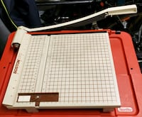 """12"""" Guillotine Paper Trimmer/Cutter (Used) MINNEAPOLIS, 55414"""