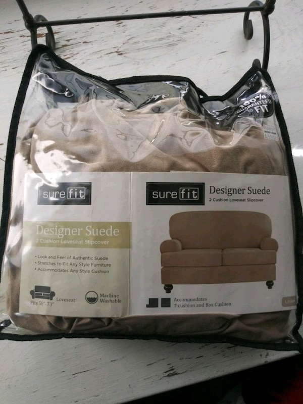 Amazing Used Surefit 3 Piece Sofa Cover Designer Suede For Sale Gmtry Best Dining Table And Chair Ideas Images Gmtryco
