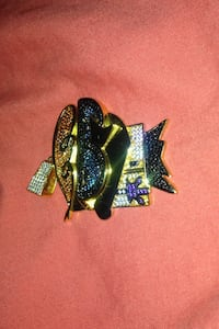 10 k Lil dexter plated si colourful diamonds on top  Toronto, M2N 3N7