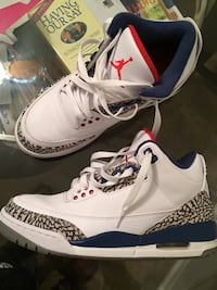 Air Jordan 3 True Blue, Size 8 Ann Arbor, 48104