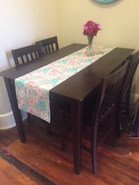 Dining table and chair set null