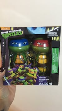 TMNT Body Wash set of 2 with box